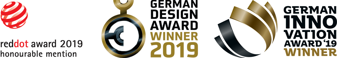 German design award winner 2019 & German innovation award nominee 2019
